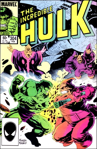 Incredible Hulk (1968) 304-A by Marvel