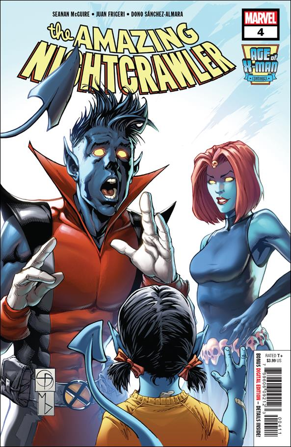Age of X-Man: The Amazing Nightcrawler 4-A by Marvel