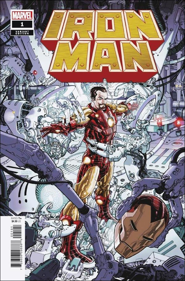 Iron Man (2020) 1-D by Marvel