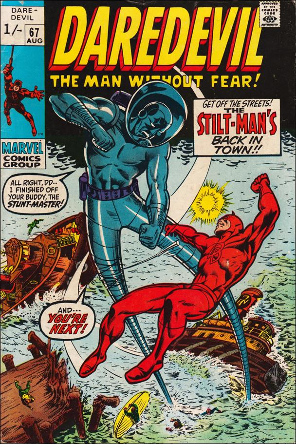 Daredevil (1964) 67-B by Marvel