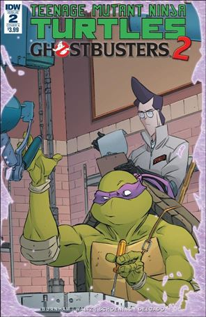 Teenage Mutant Ninja Turtles / Ghostbusters 2 2-A