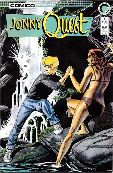 Jonny Quest (1986) 4-A by Comico