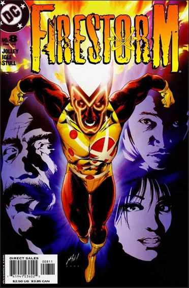 Firestorm (2004) 8-A by DC