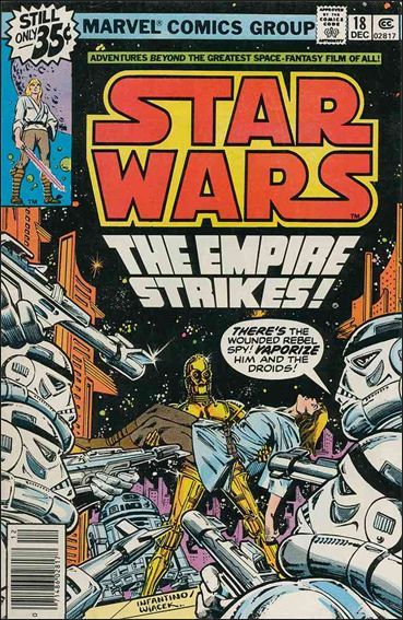 Star Wars (1977) 18-A by Marvel