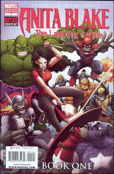 Anita Blake: The Laughing Corpse - Book One 1-B by Marvel