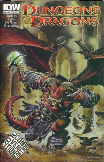 Dungeons & Dragons 0-G by IDW