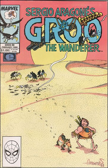 Sergio Aragones Groo the Wanderer 48-A by Epic