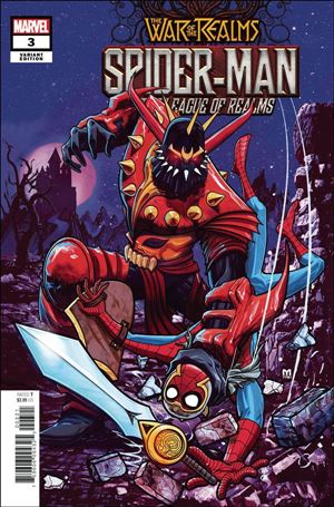 Spider-Man and the League of Realms 3-B