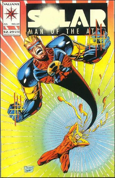 Solar, Man of the Atom (1991) 23-A by Valiant