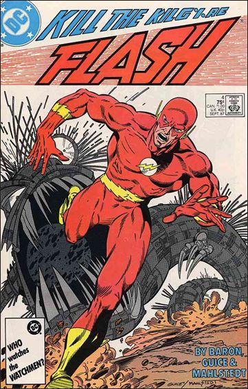 Flash (1987) 4-A by DC