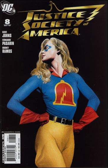 Justice Society of America (2007) 8-A by DC