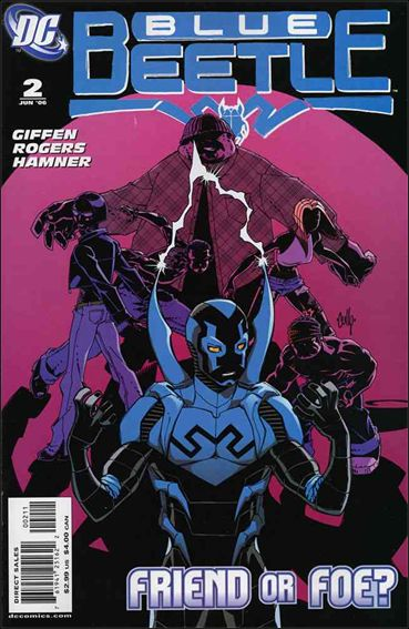 Blue Beetle (2006) 2-A by DC