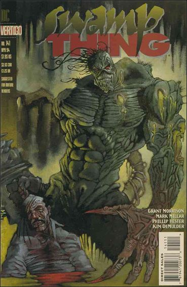 Swamp Thing (1986) 141-A by Vertigo