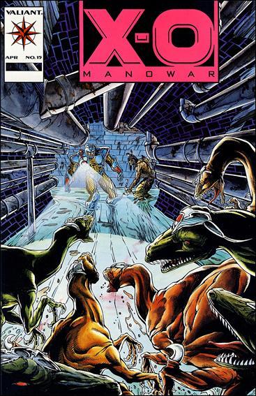 X-O Manowar (1992) 15-B by Valiant