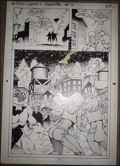 Action Comics Annual (1987) Issue #4 Page #27 by DC