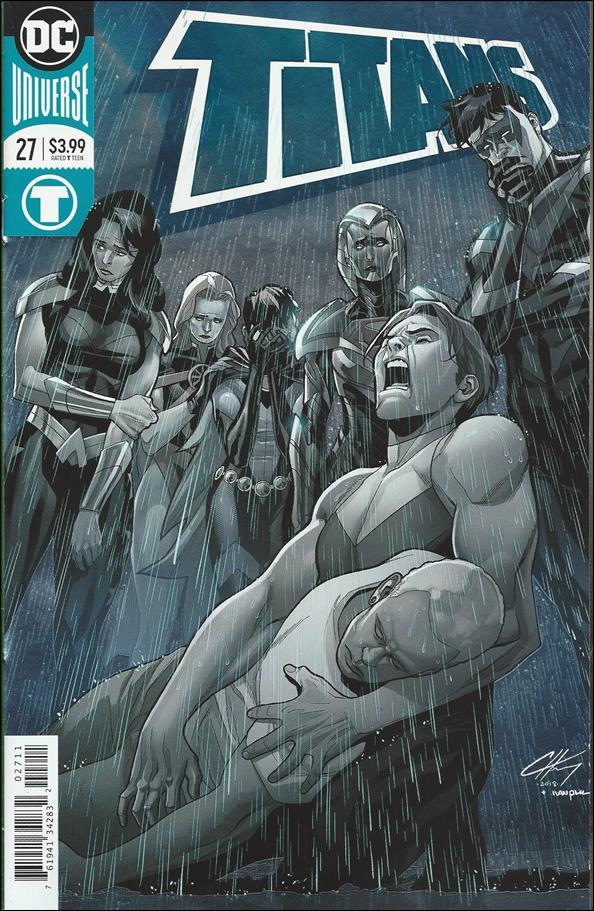 Titans (2016) 27-A by DC