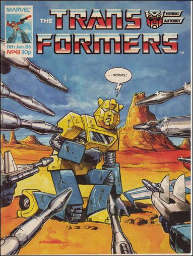 Transformers (UK) 43-A by Marvel UK