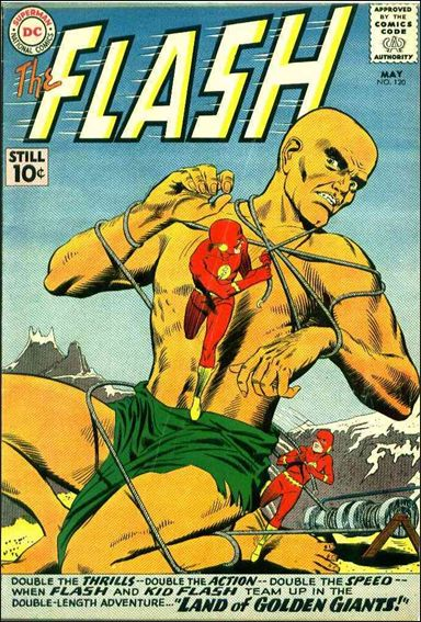 Flash (1959) 120-A by DC