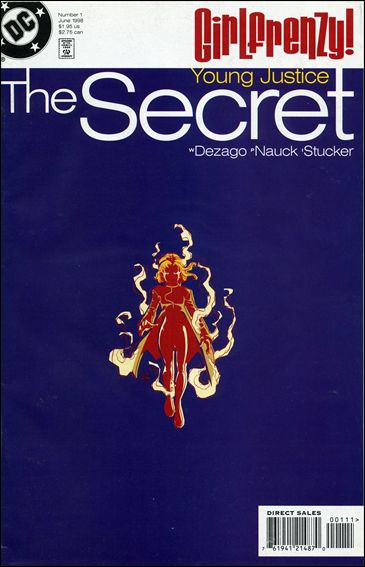 Young Justice: The Secret 1-A by DC