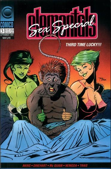 Elementals Sex Special (1991) 3-A by Comico