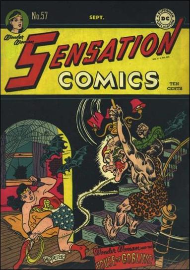 Sensation Comics (1942) 57-A by DC