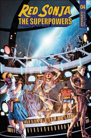 Red Sonja: The Superpowers 4-D