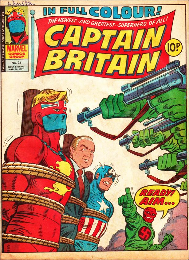 Captain Britain (UK) (1976) 23-A by Marvel UK