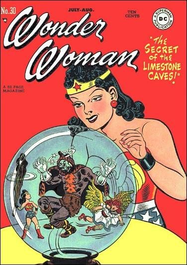 Wonder Woman (1942) 30-A by DC