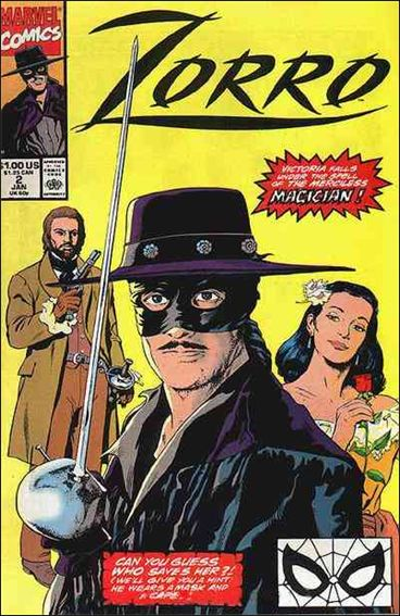 Zorro (1990) 2-A by Marvel