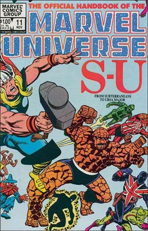 Official Handbook of the Marvel Universe (1983) 11-A