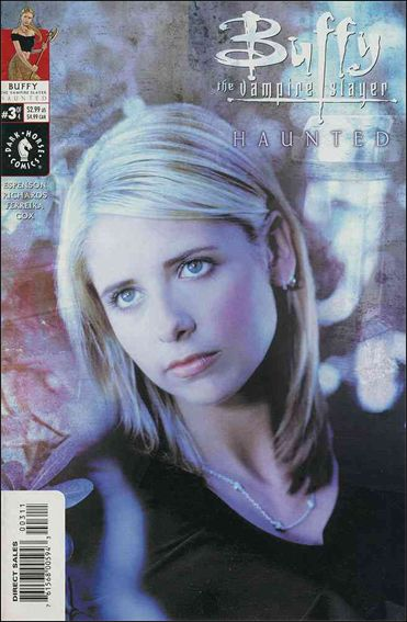 Buffy the Vampire Slayer: Haunted 3-B by Dark Horse