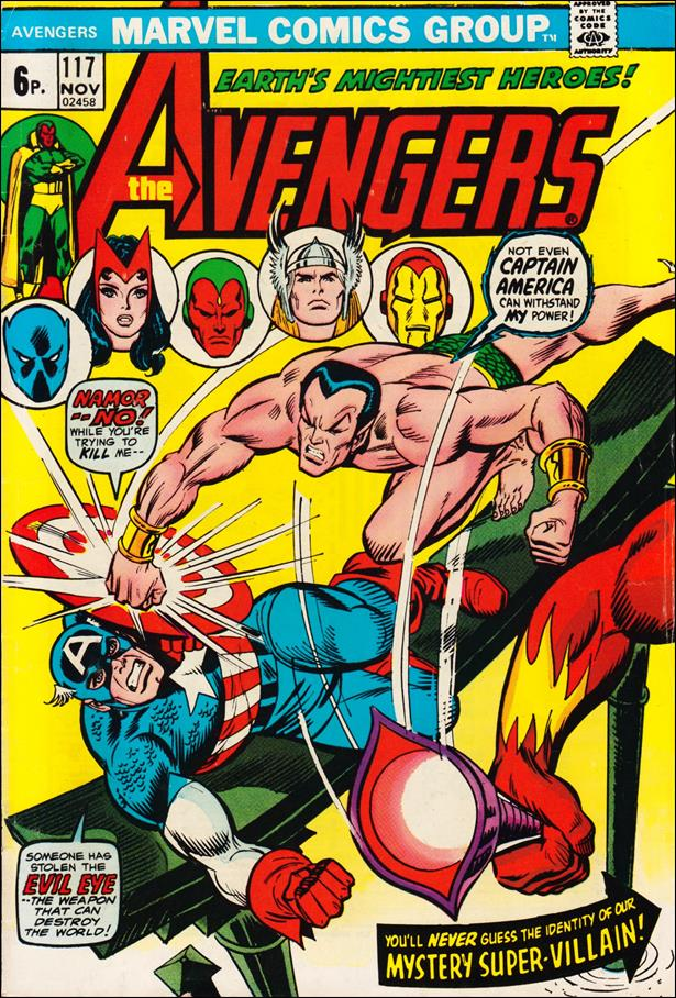 Avengers (1963) 117-B by Marvel