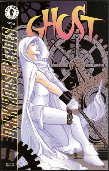 Ghost (1995) 3-A by Dark Horse