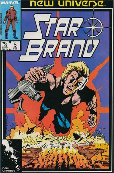 Star Brand 5-A by Marvel