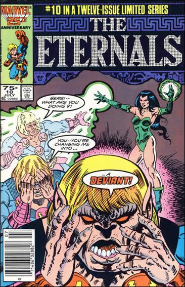 Eternals (1985) 10-A by Marvel