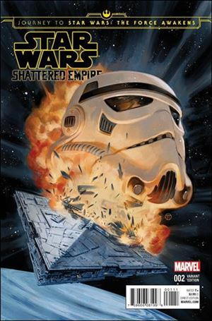 Journey to Star Wars: The Force Awakens - Shattered Empire 2-D