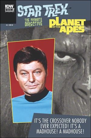 Star Trek/Planet of the Apes: The Primate Directive 3-C
