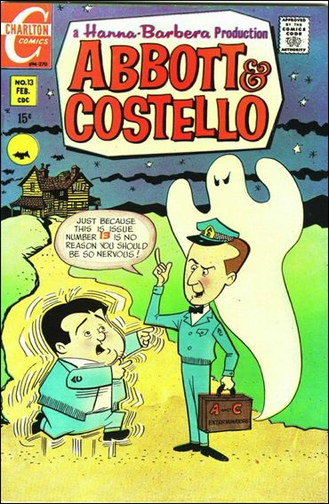 Abbott and Costello (1968) 13-A by Charlton