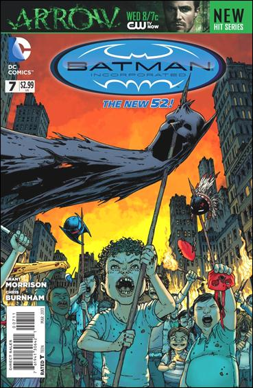 Batman Incorporated 7-A by DC