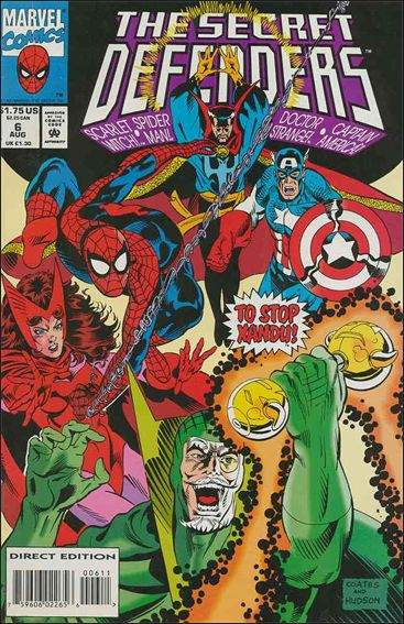 Secret Defenders 6-A by Marvel