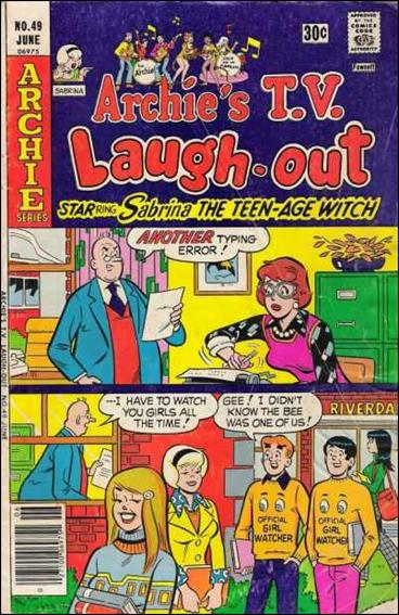 Archie's TV Laugh-Out 49-A by Archie