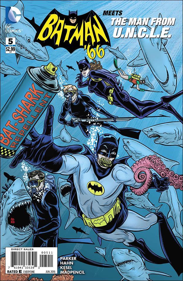 Batman '66 Meets The Man from U.N.C.L.E. 5-A