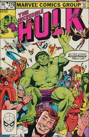 Incredible Hulk (1968) 279-A by Marvel