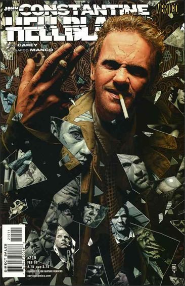 Hellblazer 215-A by Vertigo