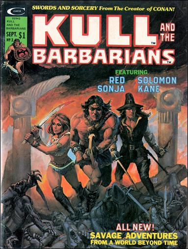Kull and the Barbarians 3-A by Marvel
