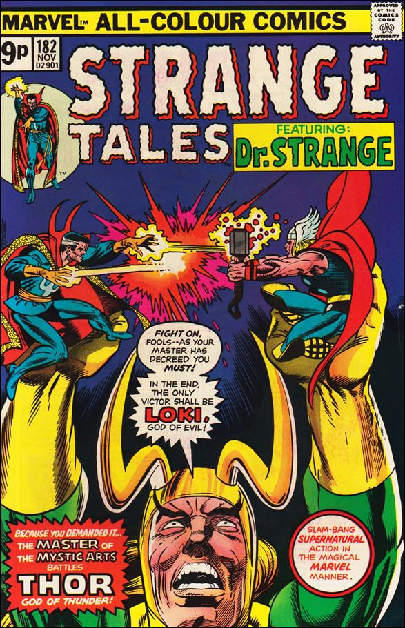 Strange Tales (1951) 182-B by Marvel
