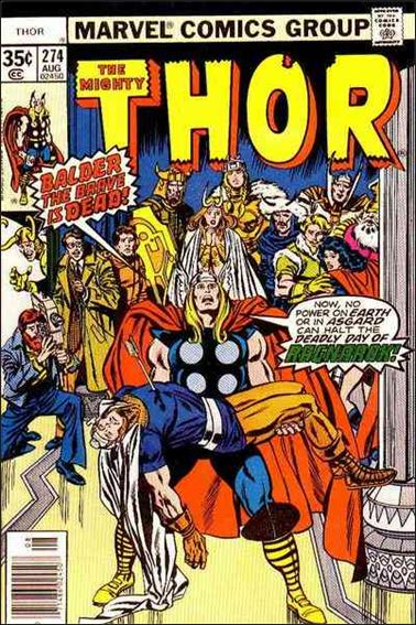 Thor (1966) 274-A by Marvel
