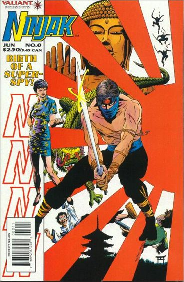Ninjak (1994) 0-A by Valiant