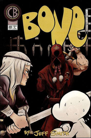 Bone (1991) 49-A by Cartoon Books
