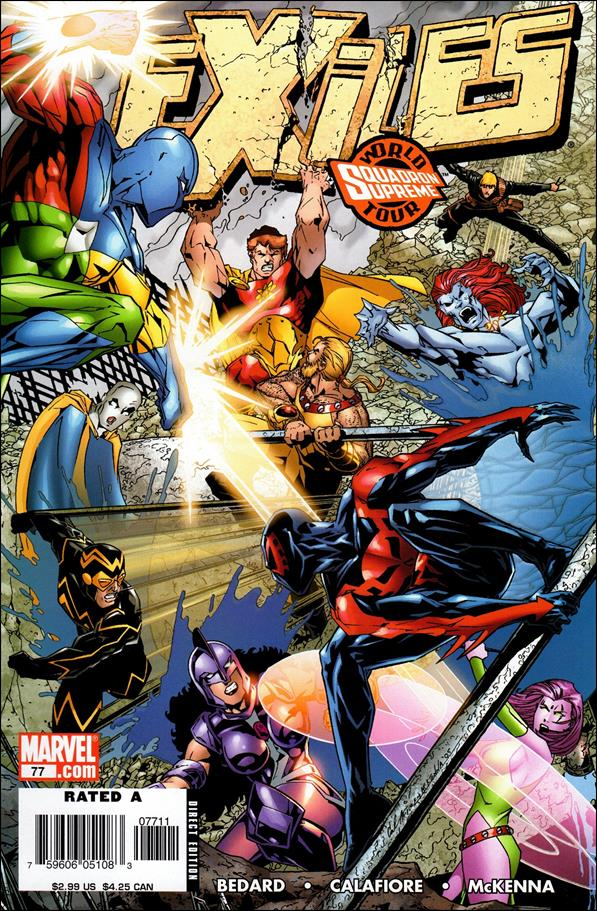 Exiles (2001) 77-A by Marvel